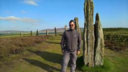 Matthew at Brodgar