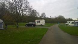 Campsite next to A12