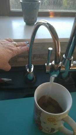 Making my coffee
